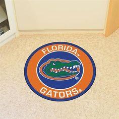 Round University of Florida Gators Floor Rug