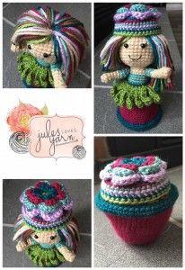 Julie Schappert - Garden Fairy Flower Pot Doll