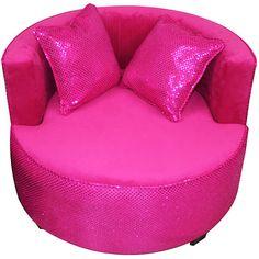 komfy kings kids redondo tween velvet chair