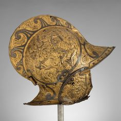 Rosso Fiorentino   Burgonet with falling buffe   1550   Museum of Metropolitan Art, USA