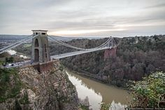 The Clifton bridge in Bristol 21