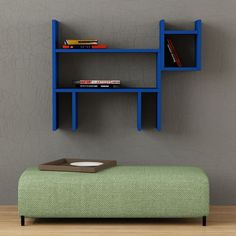 Dogie Modern Wall Shelves for Kid's Room by Decortie