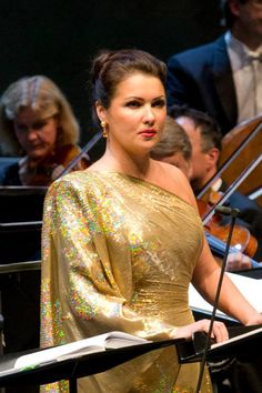 (11) Anna Netrebko - Rehearsal with Placido Domingo and Daniel Barenboim.