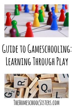 Guide to Gameschooling: Learning Through Play | The Homeschool Sisters Podcast  Gameschooling allows for stealth learning at its best. Here are the best gaming tips and tricks, from building your game closet to deciphering instructions, to organizing your