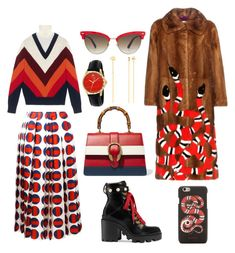 """""""Total Gucci"""" by elenasaburova ❤ liked on Polyvore featuring Gucci"""