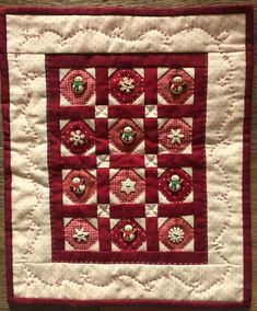Red Button Quilt Company is a home based quilting pattern and kit business. Cute Quilts, Small Quilts, Mini Quilts, Nancy Zieman, Quilt Kits, Quilt Blocks, Mini Quilt Patterns, Snowman Quilt, Winter Quilts
