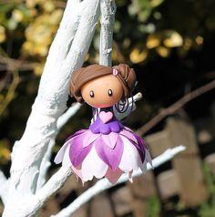 Fairy bell ornament 049 by TheLittleMandarine on Etsy