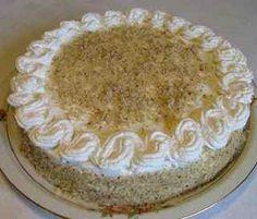 Bogata torta sa orasima i narandžama - Koreni Hungarian Desserts, Hungarian Cuisine, Hungarian Recipes, My Recipes, Cooking Recipes, Walnut Cake, Cakes And More, Amazing Cakes, Vanilla Cake