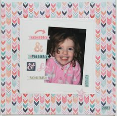 I have another page to share for Mystical Scrapbooks today. I wanted to scrap this photo of my youngest daughter in her pj's. My Scrapbook, Scrapbooks, Mystic, Frame, Decor, Dekoration, Decoration, Frames, Scrapbook