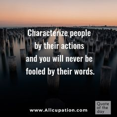 My grandmother spoke this truth often. Action speak louder than words. Dont try to rationalize or tell yourself a different story that does not reflect the reality of someones actions. They are revealing their true colors believe them the first time. Quotable Quotes, Wisdom Quotes, Quotes To Live By, Me Quotes, Motivational Quotes, Inspirational Quotes, Life Lesson Quotes, Life Lessons, Someones True Colors