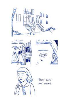 A little comic I made for Home zine. Pick up a copy here athttps://homezine.bigcartel.com