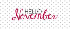 Inspiration...Hello November ! | blog.stickerzlab.com