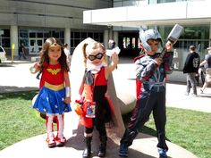 10 Things I Learned From Denver Comic Con 2015. (Plus Wonder Woman, Harley Quinn, and Thor cosplay Kids.)