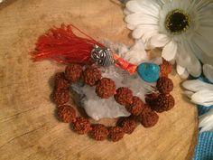 Mini Rudraksha Mala by MalasByTini on Etsy Crochet Necklace, Beads, Trending Outfits, Mini, Unique Jewelry, Handmade Gifts, Etsy, Vintage, Beading