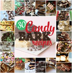 AllredDesign.net - 30 Delicious Candy Bark Recipes