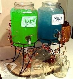 Health and Mana for your party guests