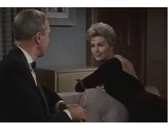 "Your black dress is very ""fifties""…  Kim Novak, 1958, ""Bell, Book and Candle""."