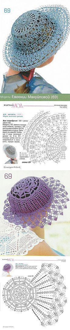Новости sombreros tejidos a crochet para damas