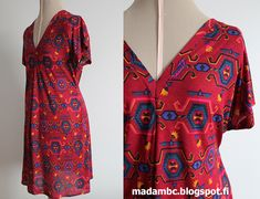 Madam B.C.: Tee-se-itse: Ompele mekko osa 3. Handicraft Ideas, Sewing, Tees, Style, Swag, Dressmaking, T Shirts, Couture, Stitching