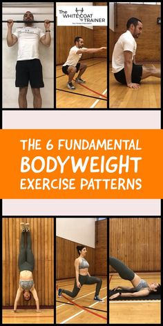 The Complete List of Calisthenic Exercises [Beginner to Advanced] – The White Coat Trainer These are the 6 best bodyweight exercises you can perform. Learn how to do several variations and progressions of these great bodyweight movements. Bodyweight Training Program, Pilates Training, Training Workouts, Workout Exercises, Body Workouts, Workout Tips, Workout Programs, Best Body Weight Exercises, Weight Workouts