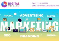 Digital Web Mania is having an expert who can provide valuable internet marketing and advanced SEO solutions to your online business. call us - 81 55 88 30 Best Seo Services, Digital Marketing Services, Seo Specialist, Digital Web, Social Advertising, Seo Agency, Seo Strategy, Seo Company, Promote Your Business