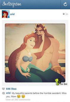 οι πριγκίπισσες στο instagram.