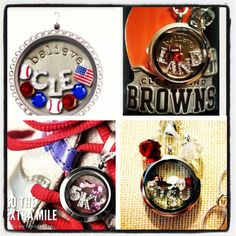 Osu, ohio state, Cleveland browns, Cleveland Indians, 5k, runner, ohio sports, origami owl, sports fan, gift idea, join my team!! To order visit www.troyer.origamiowl.com #53129