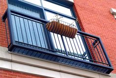 Window Railings and Faux Balconies. For more information visit http://innotechmfg.com/balconies-window-railings