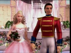 "Clara ""Sugarplum Princess"" and Prince Eric ""Nutcracker"" - barbie-princess Photo"