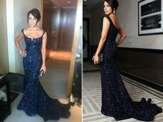 Sparkly Prom Dresses,Sexy Mermaid Long Prom Dresses,Straps Prom Gowns,Beaded Evening Dresses,Backless Evening Gowns,Cocktail Dresses