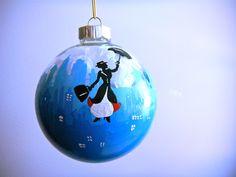 Mary Poppins London inspired Christmas Ornament by ClarityArtwork on Etsy https://www.etsy.com/listing/120274382/mary-poppins-london-inspired-christmas