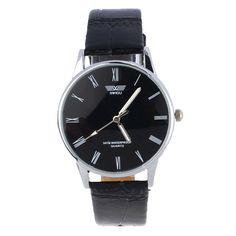 Essentiële 2016 Nieuwe Quartz Horloges Fashion & Casual Luxe Lederen Horloge…