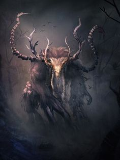 Wendigo, Matt Forsyth on ArtStation at https://www.artstation.com/artwork/dBL9Q