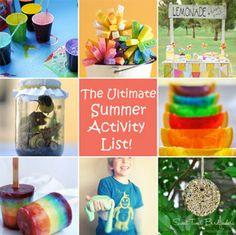Summer activities your kids will love
