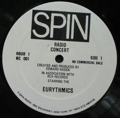 4531 - Eurythmics - Radio Concert Eurythmics - USA - Double Vinyl LP - NC001 - http://www.eurythmics-ultimate.com/4531-eurythmics-radio-concert-eurythmics-usa-double-vinyl-lp-nc001/