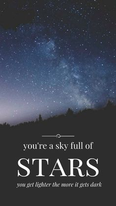 Exceptional A Sky Full Of Stars