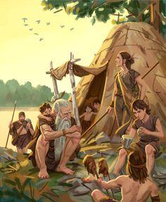 Mesolithic campsite by Mats Minnhagen