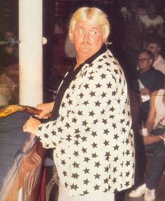 Percy Pringle aka Paul Bearer William Moody Paul Bearer, World Championship Wrestling, Wrestling Stars, Old School, Wwe, American, Legends