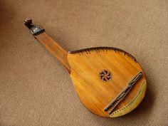 The Bandura, Ukraine's national instrument.