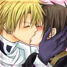 yaoi kissing- 07 ghost <3