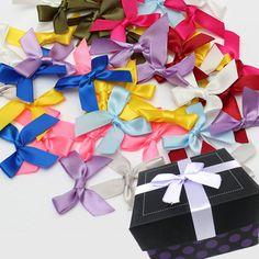 50pcs Silk Ribbon Bows Bow Bowknots Ribbon Party Gift Decoration Craft DIY Gift - Banggood Mobile