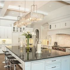 Those who asked about the light pendants, the are from @maxim_et2lighting... - Interior Design Ideas, Interior Decor and Designs, Home Design Inspiration, Room Design Ideas, Interior Decorating, Furniture And Accessories