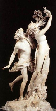 BERNINI, Gian Lorenzo  Apollo and Daphne  1622-25  Baroque  Carrara marble  height 243 cm  Galleria Borghese, Rome