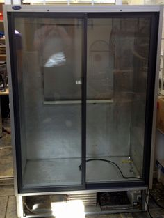 Our main incubator is full already! So we've bought another fridge to convert. It doesn't look much now, but will be just the job.