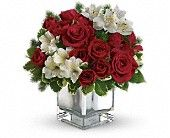 Teleflora's Christmas Blush Bouquet Flowers, Teleflora's Christmas Blush Flower Bouquet - Teleflora.com