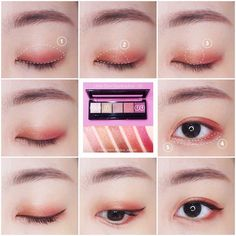 Camouflage Make-up to Hide All Your Skin Imperfections – Make Up Tips Korean Makeup Tips, Korean Makeup Tutorials, Asian Eye Makeup, Ulzzang Makeup Tutorial, Eyeshadow Tutorials, Korea Makeup, Kawaii Makeup, Japanese Makeup, Cosplay Makeup