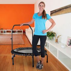 JumpSport® 550fi Fitness Trampoline