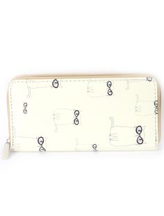 CAT IN GLASSES PRINT BAG ACCESSORY wholesale fashion jewelry c25f99e96e2d1