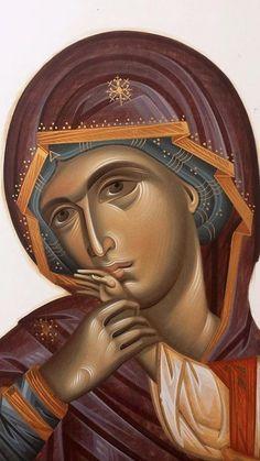 Religious Images, Religious Icons, Religious Art, Byzantine Art, Byzantine Icons, Religious Paintings, Russian Icons, Biblical Verses, Art Icon