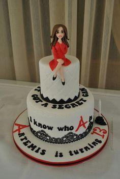 Pretty Little Liars cake!